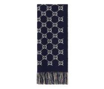 Schal aus Wolle mit GG Motiv