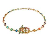 GG Armband mit mehrfarbigen Steinen