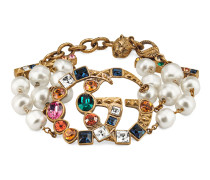 Armband mit GG und Kristallen