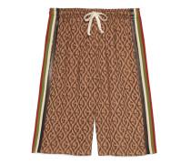 Shorts mit GRhombus-Muster
