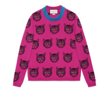 Pullover aus Wolle-Kaschmir-Strick