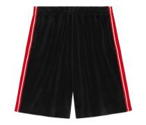 Shorts aus Chenille