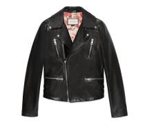 Biker-Jacke aus Leder