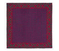 Einstecktuch aus Seide mit geometrischem G-Print