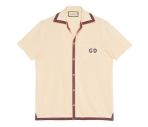 Polo with GG embroidery
