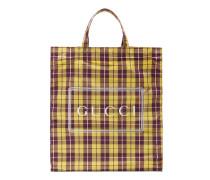 Mittelgroßer Shopper mit GucciKaro-Print