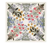 Schal aus Seide mit New Flora-Print