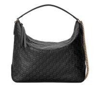 Große Hobo-Tasche aus Gucci Signature