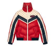 Jacke aus Nylon mit Gucci Patch