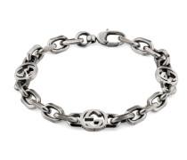Armband aus Silber mit GG