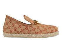 Damen-Loafer aus GG Canvas