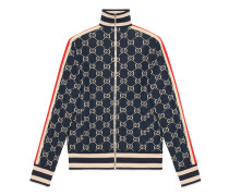 Jacke aus Baumwolle mit GGJacquard