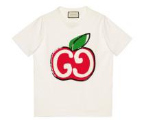 T-Shirt mit GG Apfel-Print