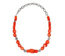 Anger Forest Halskette aus Silber mit Perlen