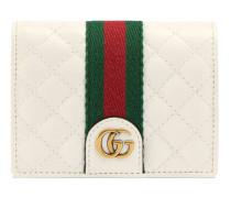 Kartenetui aus Leder mit Doppel G