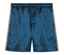 Shorts aus bedrucktem Bi-Material