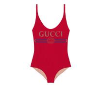 Funkelnder Badeanzug mit GucciLogo