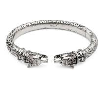 Anger Forest Armband aus Silber mit Wolfskopf