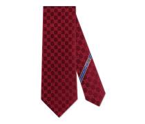 Krawatte mit GG Muster aus Seide