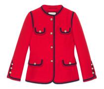 Jacke aus Seide und Wolle