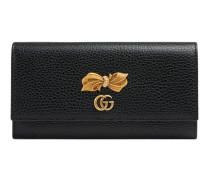 Continental Brieftasche aus Leder mit Schleife