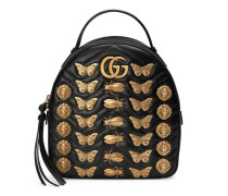 GG Marmont Rucksack aus Leder mit Tier-Nieten