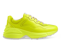 RhytonSneaker aus Neon-Leder