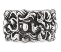 Löwenmähne-Ring mit Kristall