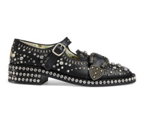 Queercore Brogue-Schuh mit Kristallen