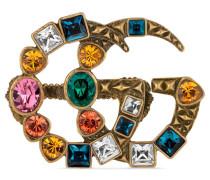 Multi-Finger-Ring mit GG und Kristallen