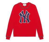 Pullover aus Wolle mit NY Yankees™-Patch