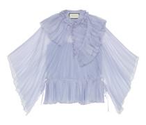 Bluse aus Seidenorgandy