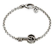 Doppel G Schlüssel-Armband