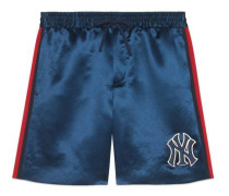 Shorts mit NY-Yankees-Patch