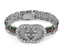 Web-Armband mit Kristallen