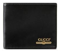 Brieftasche aus Leder mit Gucci Logo