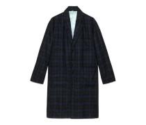 Mantel aus Flanell