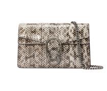 Dionysus Super-Mini-Tasche aus Schlange