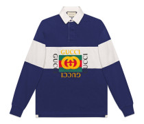 Poloshirt aus Baumwolle mit Logo