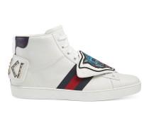 Hoher Ace Sneaker mit abnehmbaren Stickereien