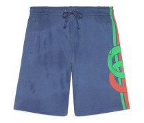 Shorts mit GG Print