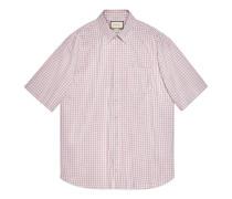 Übergroßes Hemd aus Oxford-Baumwolle