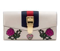 Sylvie Continental Brieftasche aus Leder