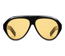 Pilotensonnenbrille mit Doppel-G