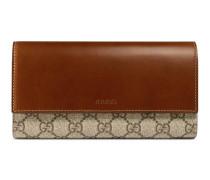 Lange Brieftasche aus GG Supreme Canvas