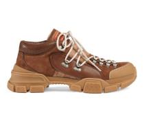Sneaker aus Leder und Original GG