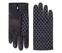 Handschuhe aus Leder mit Square G