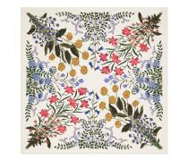 Schal aus Seide mit NewFlora-Print