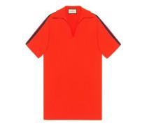 Übergroßes Hemd aus Viskose mit Web