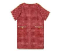 Tunikakleid aus Wolle mit Square G